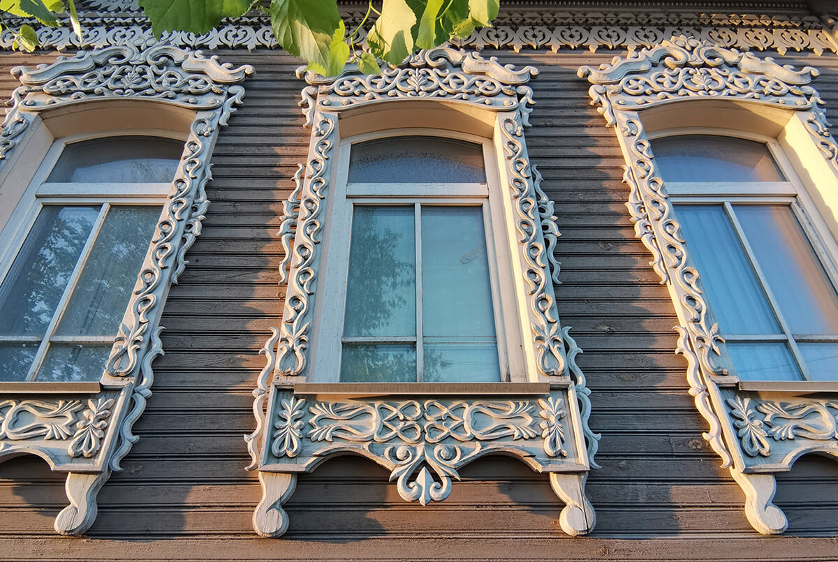 Wooden Architecture in Novosibirsk