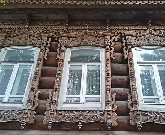 Wooden Architecture. Russia